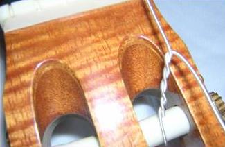 Classical Guitar Bass Strings Installation 3