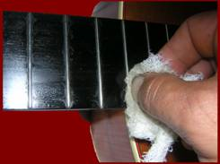 Cleaning a Classical Guitar Fingerboard