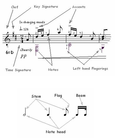 Elements of a Musical Score 2