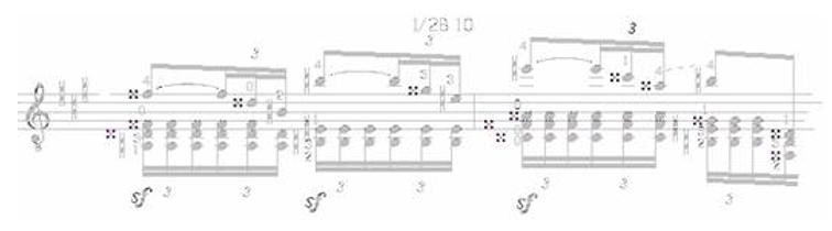 Note Symbols for Classical Guitar 10