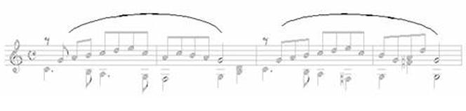 Note Symbols for Classical Guitar 22