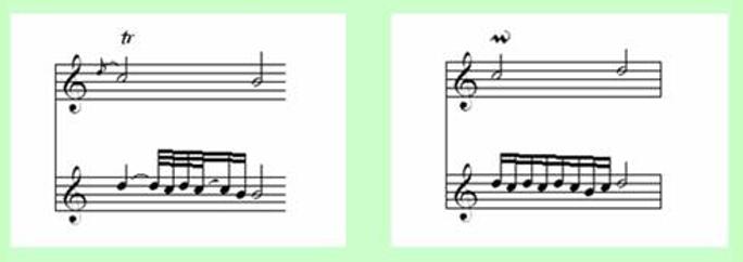Note Symbols for Classical Guitar 27