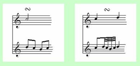 Note Symbols for Classical Guitar 36