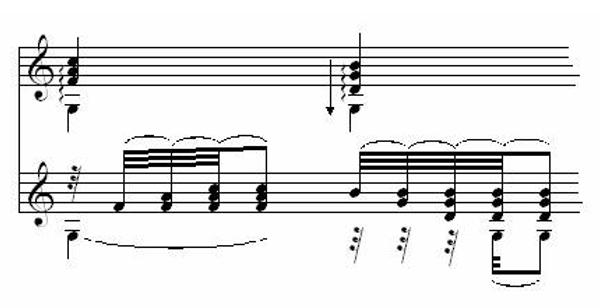 Note Symbols for Classical Guitar 6