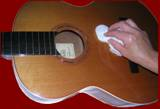 Polishing a Classical Guitar 2