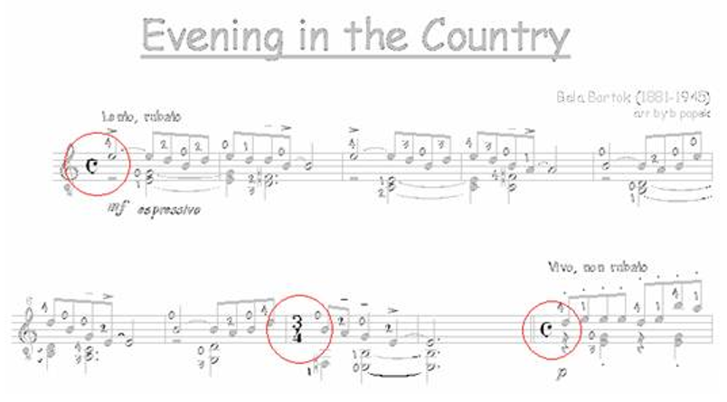 Time Signatures for Classical Guitar 3