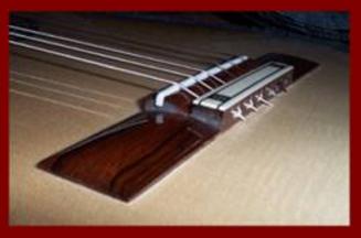 Classical Guitar 18 hole Bridge