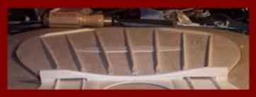 Classical Guitar Bridge Plate