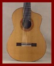 Classical Guitar Cut-a-Way 2