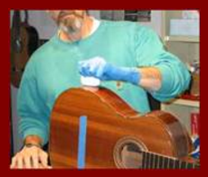 Classical Guitar French Polished Shellac