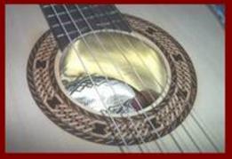 Classical Guitar Sound Hole 4