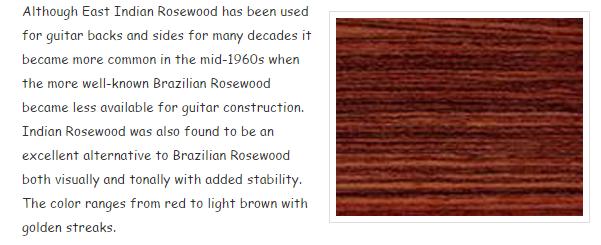 cgsmusic- Eastern Indian Rosewood