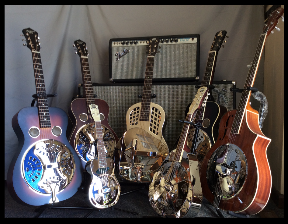 Resophonic guitars @ cgsmusic