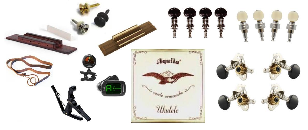 Ukulele Parts & Accessories