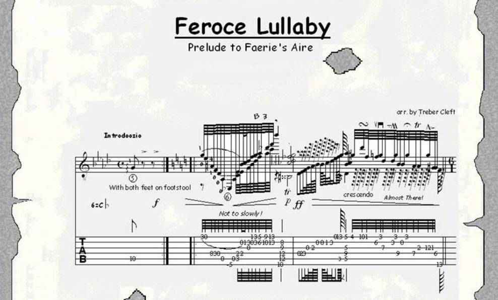 Feroce Lullaby Prelude Faerie's Aire